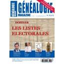 Généalogie Magazine n° 372-373
